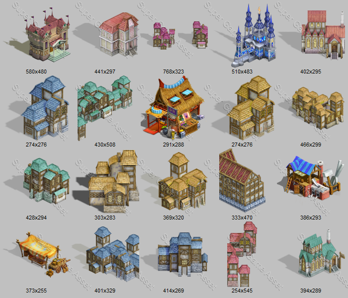Epic RPG Buildings