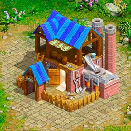Village Buildings Set