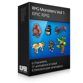 RPG Monsters Vol1