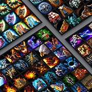 600+ Fantasy RPG icon bundle