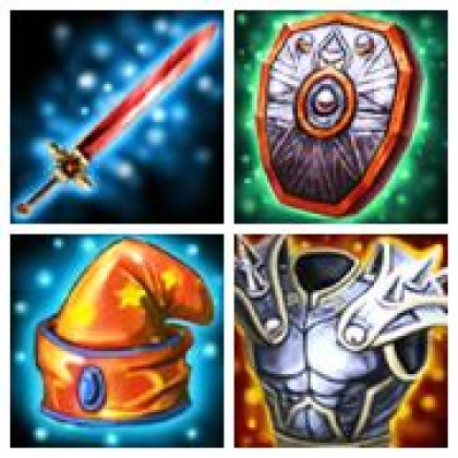 Epic RPG Equipment Icon Set