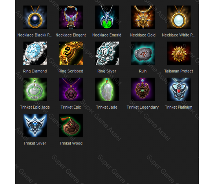 Fantasy RPG Accessories icons