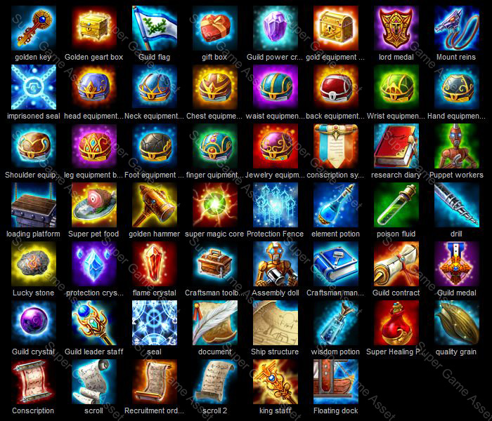 RPG consumable item icon