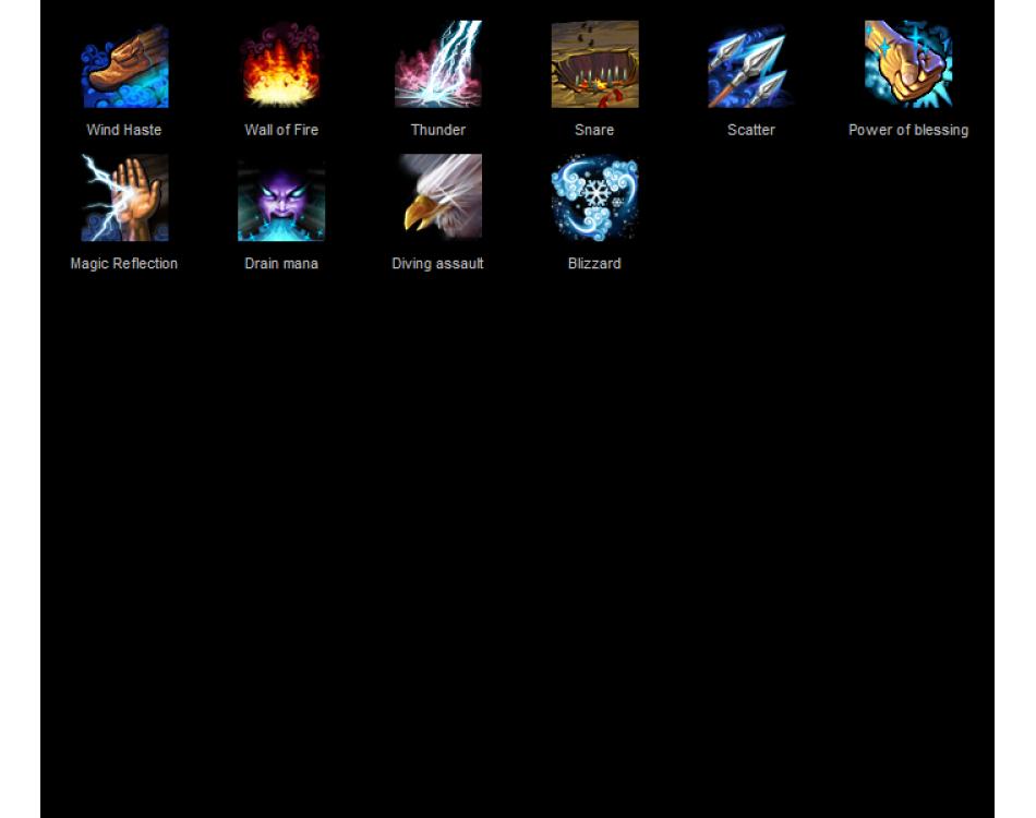 Hero Skills Free Fantasy Rpg Series Game Icons Super