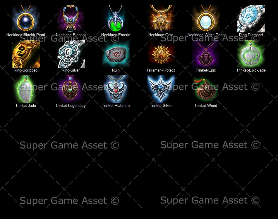 Accessories - Fantasy RPG series