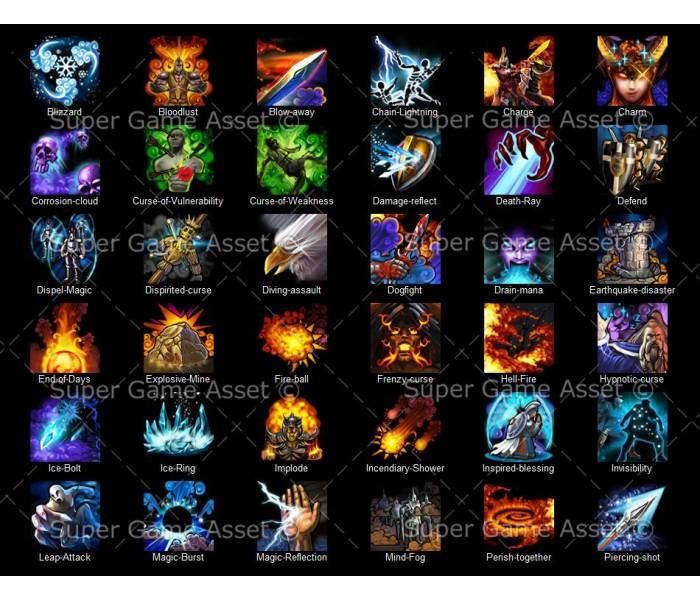 Hero Skills - Fantasy RPG series