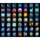 Strategy Game Ability Icons