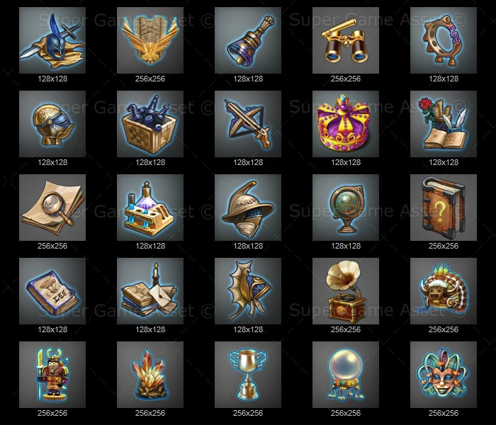 adventure items icon