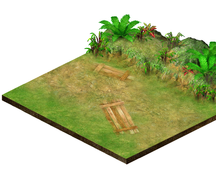 Isometric Battle Ground Set1