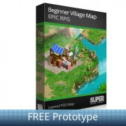 FREE Prototype Isometric Game Maps