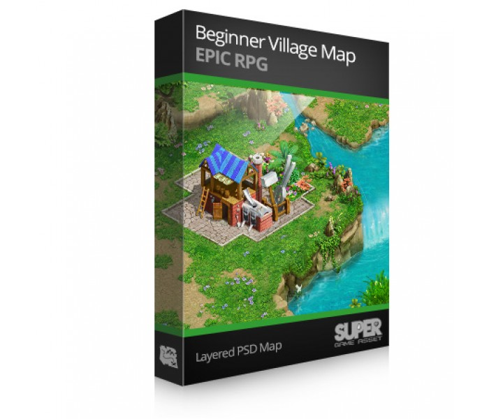 Beginner Village Map Pack