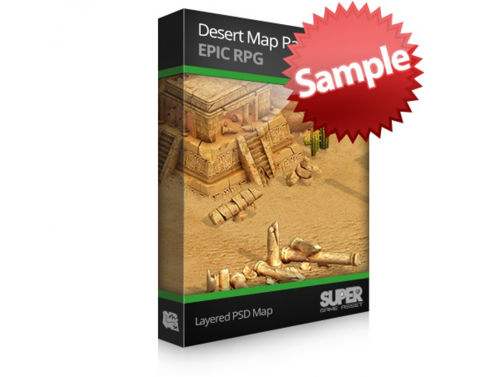 Desert Map Sample