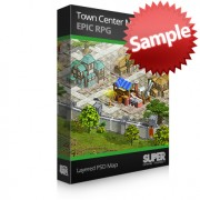 Town Center Map Sample