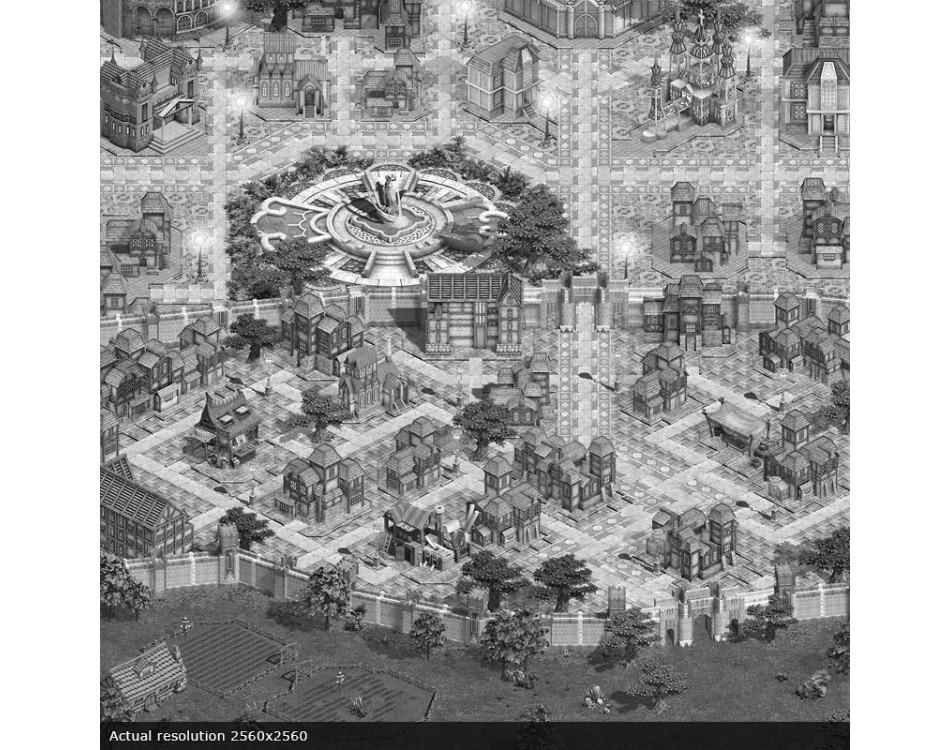 Town Center Map Sample