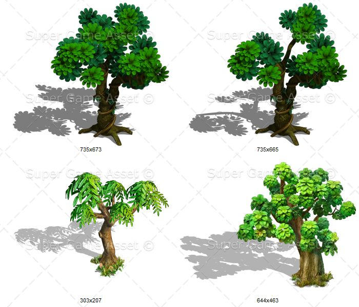 happy tree sprites