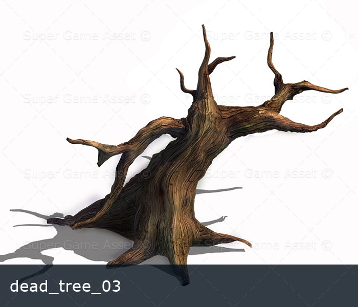 how to draw a cartoon dead tree
