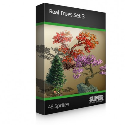 Real Trees Sprite Set3