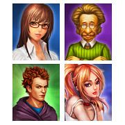 Simple RPG NPC Portraits