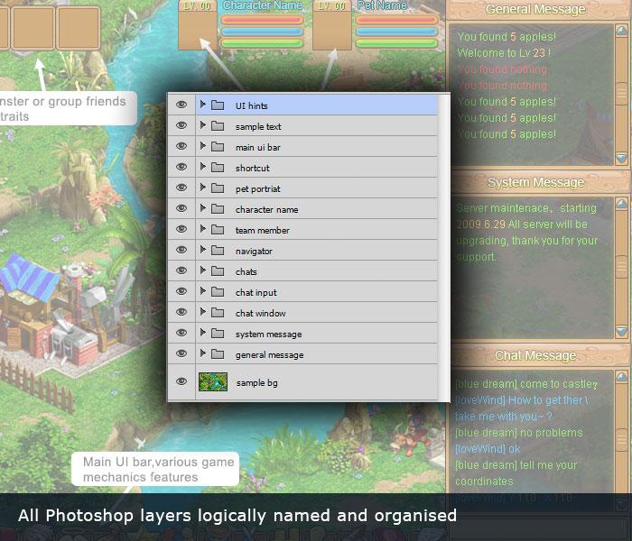 Epic RPG UI - game user interface - Super Game Asset