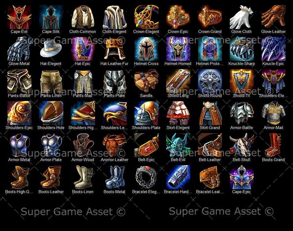 fantasy rpg armor icon