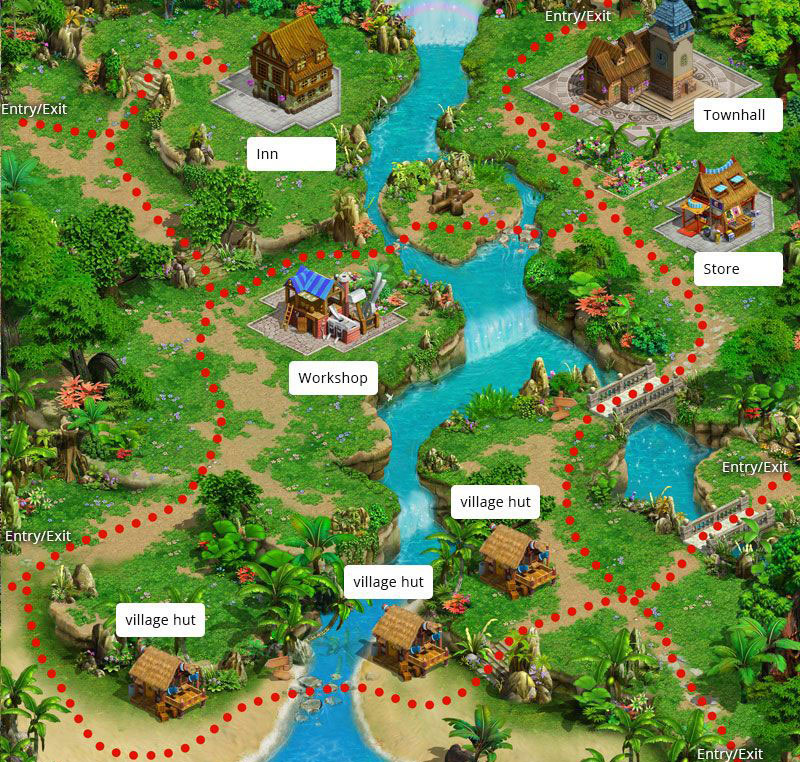 village game map