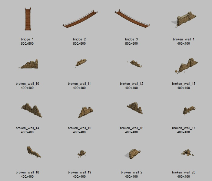 Sprite Pack Is Also Included For Future Use It Is The Same Sprites Contained Within The Map Psd File Plus A Few Extras For Your Own Customisation